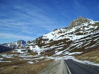 The road to the Col de la Pierre St.Martin
