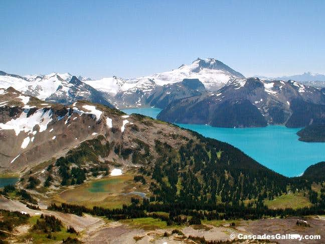 Garibaldi Lake from Black Tusk