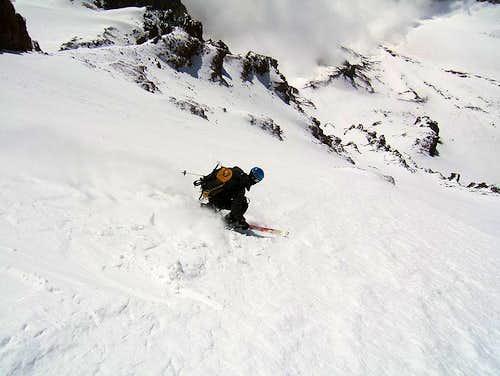 SE Face Ski Descent