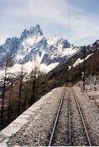 Grand Charmoz (often climbed...