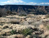 New River Mesa from Skull Mesa