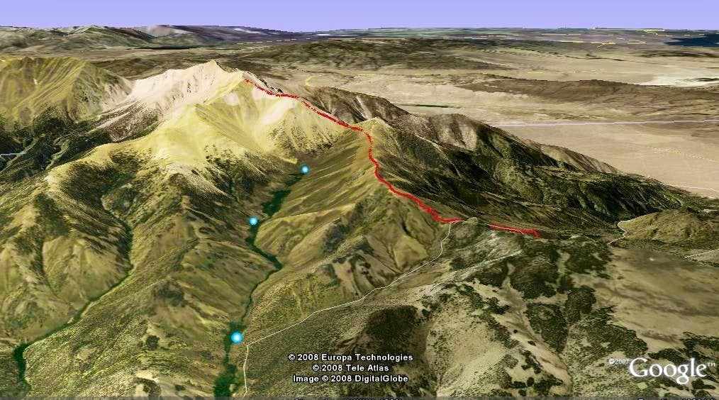 Boundary Peak Route