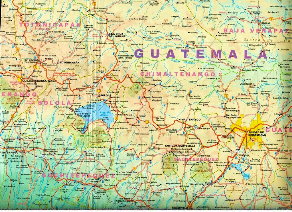 Road Map to Xela