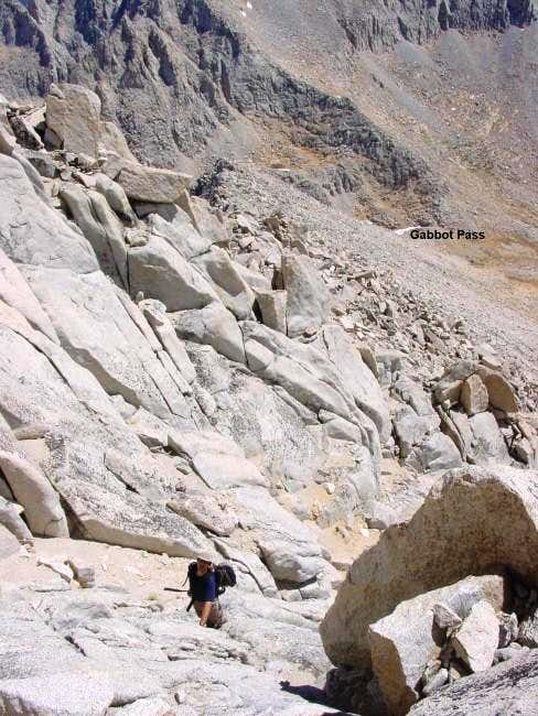 Climbing difficulties exceed...