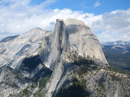 Agony of Da Feet On Half Dome