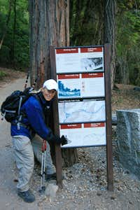 Trail Head to Half Dome
