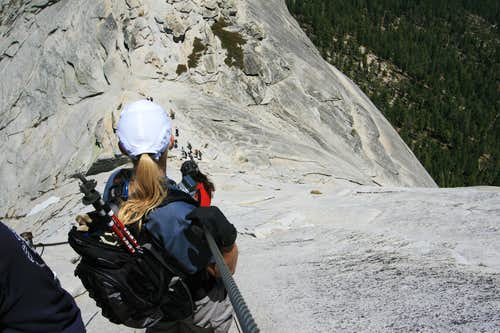 Face First Down The Cables
