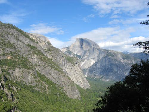Another Angle of Half Dome