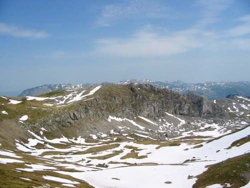 Spionik ridge - eastern part...