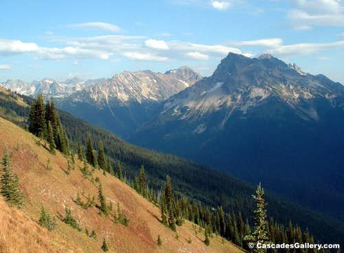 Fortress Mountain from Miner\'s Ridge