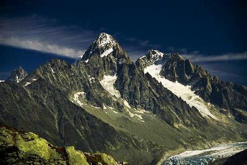 Mont Blanc massif, Argentière