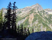 Cadet Peak from Mystery Hill