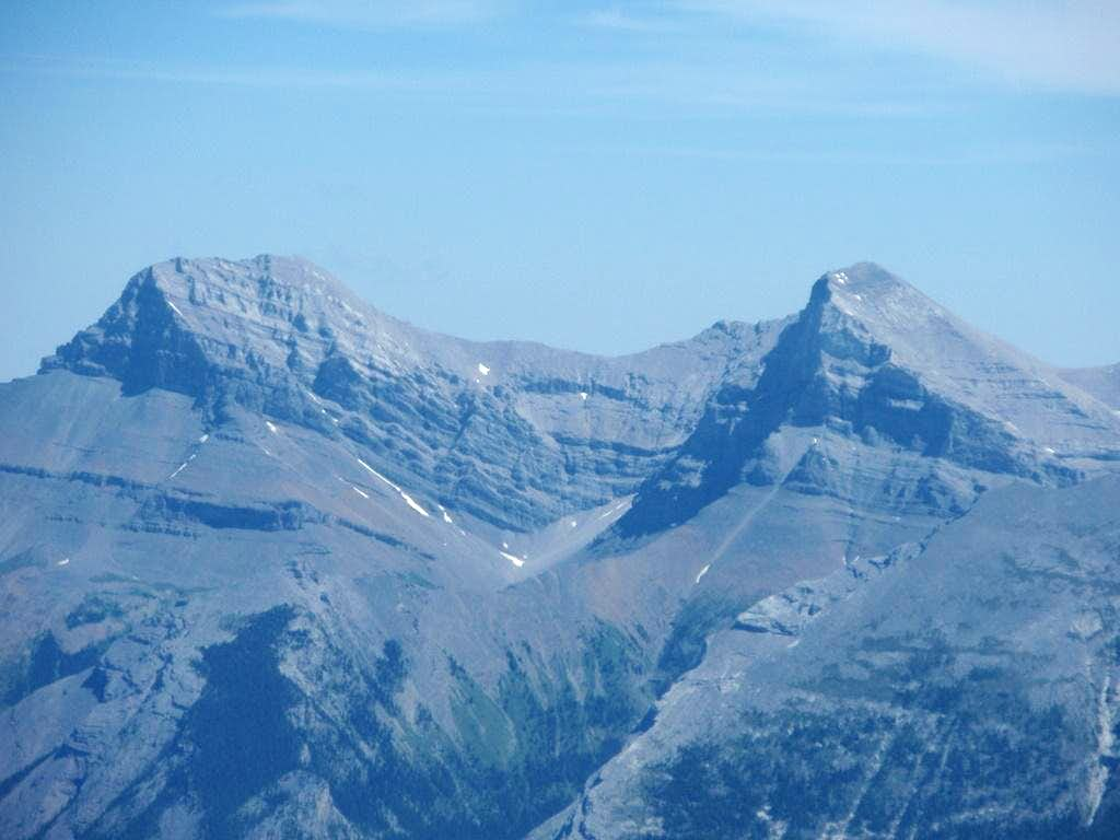 Mount Lougheed - peaks 1 and 2