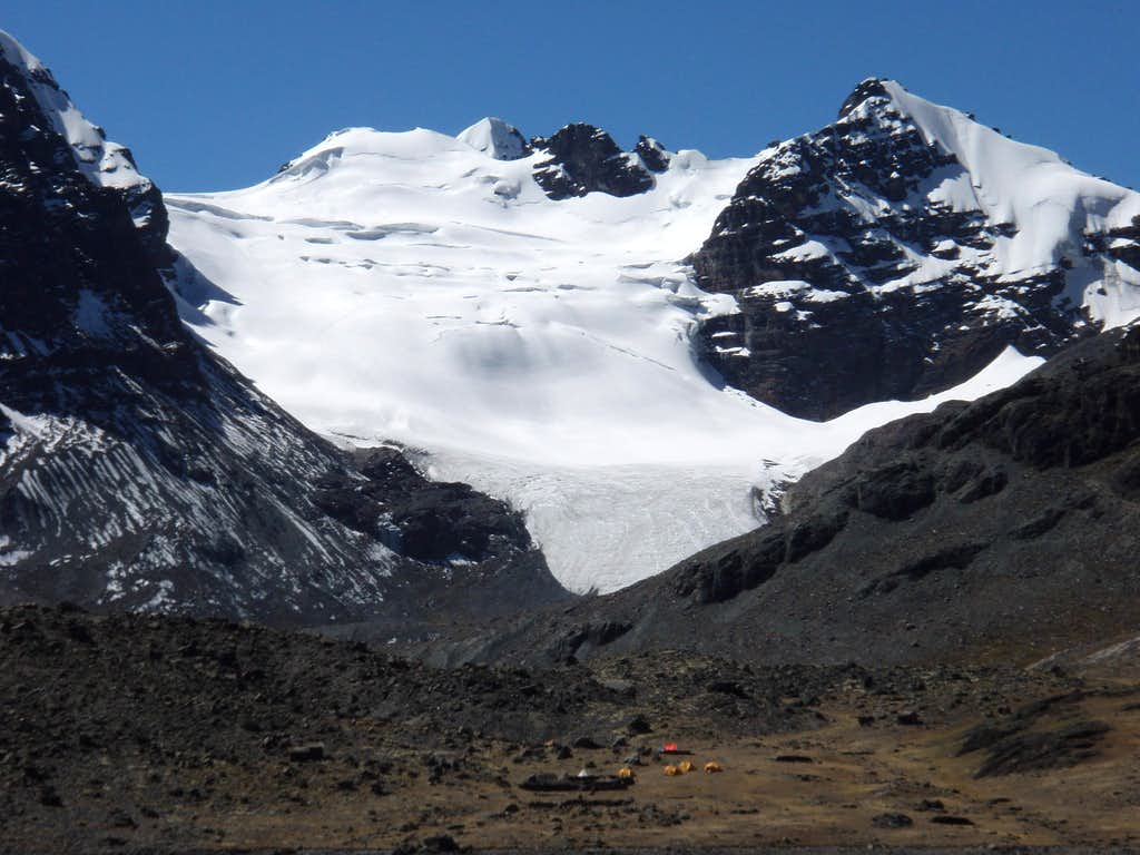 Condoriri and Camp