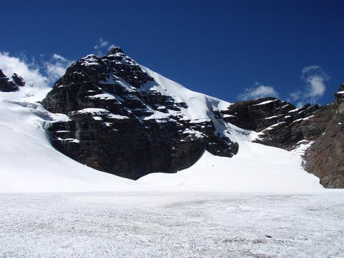 View from on the glacier