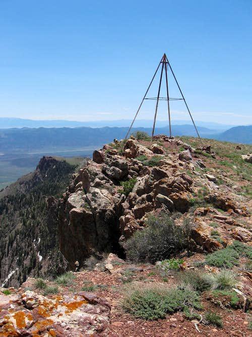 Top of Fool Creek Peak