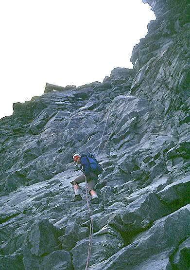 Matterhorn, Hörnligrat, Lower Moseley Slab