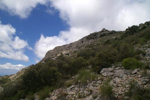 Almendron summit