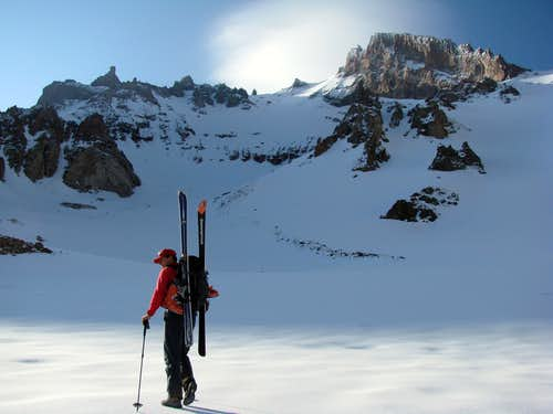 Erciyes – skiing the North Face