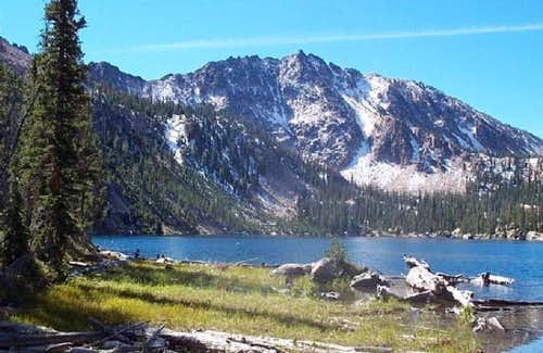 Imogene Lake, which is nearby...