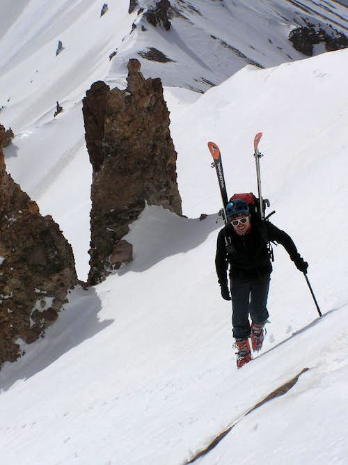Erciyes – skiing Angel´s Road