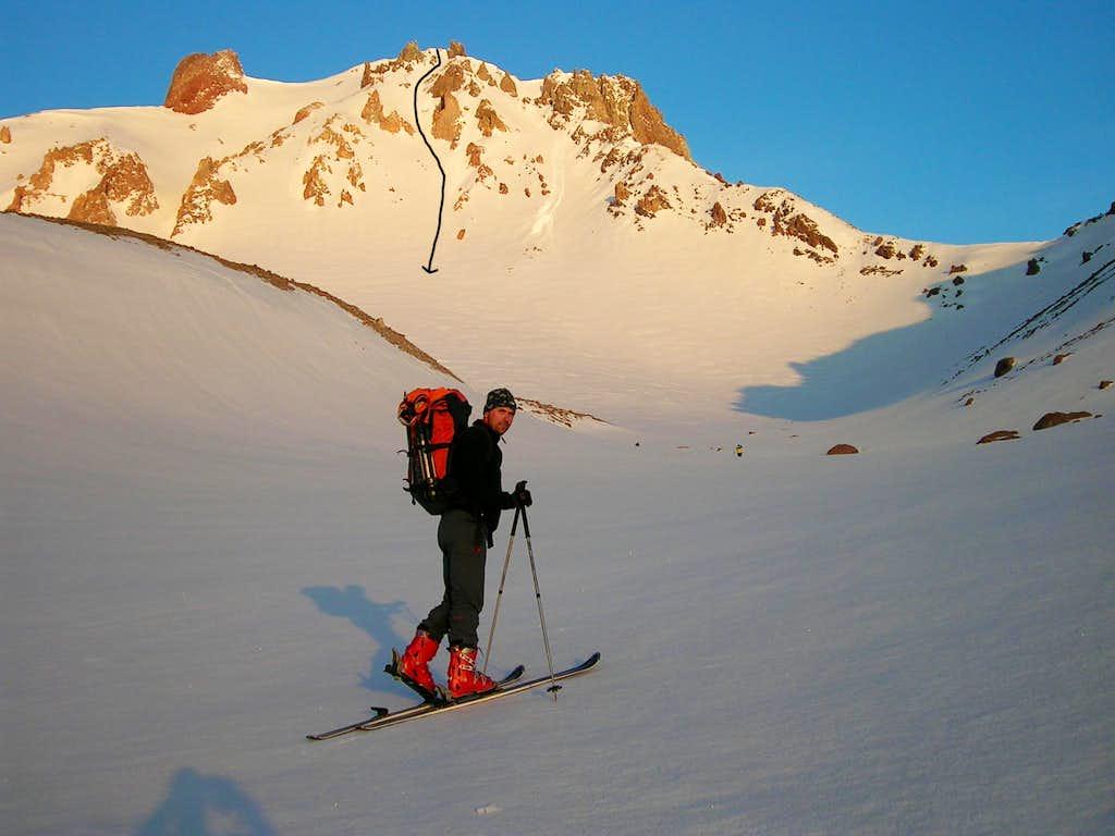 Erciyes – skiing Angel´s Road