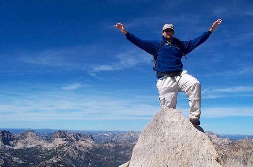 Me on top of Mount Cramer....
