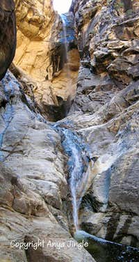 Icebox Canyon Waterfall