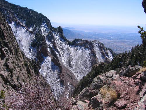 Southwest from East Saddle Route