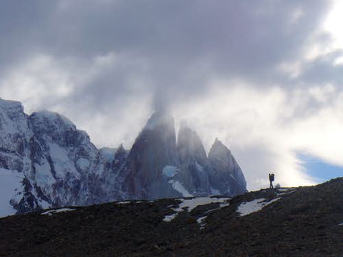 Walking with Cerro Torre