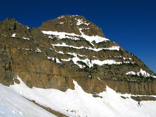 The Northeast Face of Reids Peak