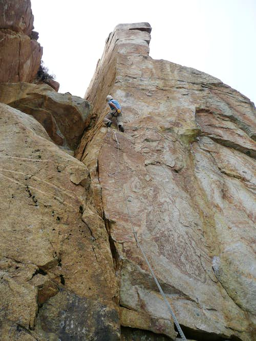 Road Cut Sport Climbing