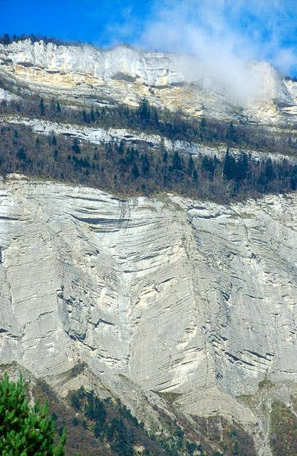 Grésivaudan cliff
