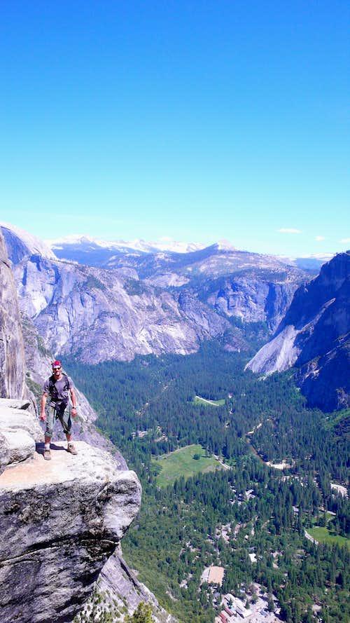 Atop Yosemite Falls