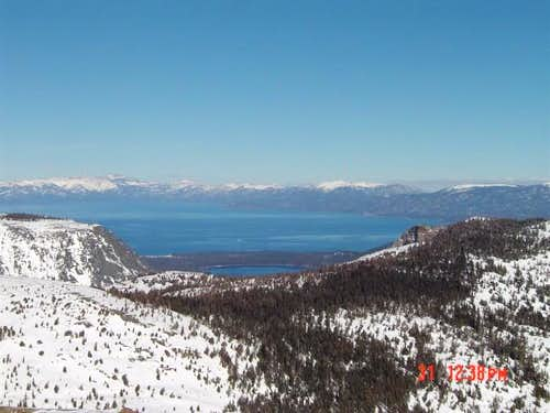 Lake Tahoe from Ralston Peak...