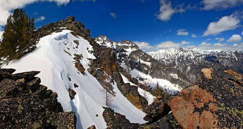 False Summit from the Ridge