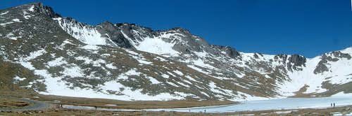 Mt Evans: Follow the dashed line