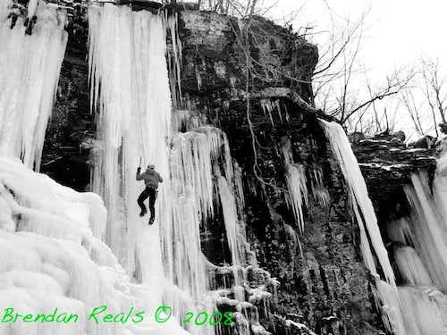 Catskill Ice climbing