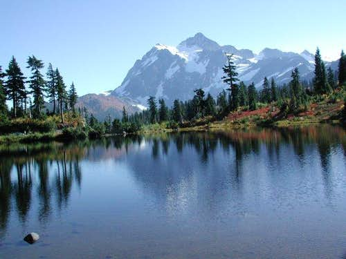 Another shot of Mt Shuksan...