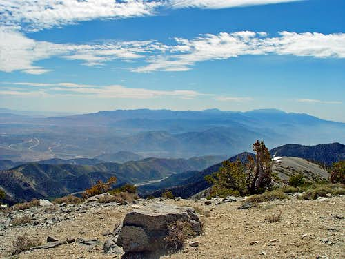 Cajon Pass from Mount Baldy