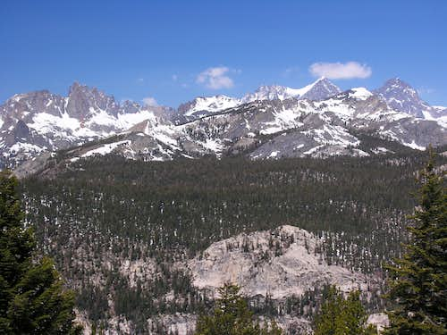 Ritter Range from Minaret Vista 6/1/08