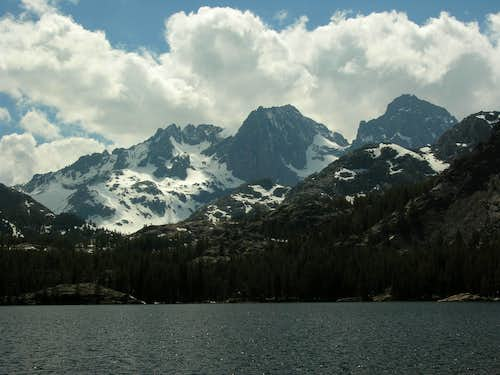 Ritter-Banner view from Shadow Lake 6/1/08