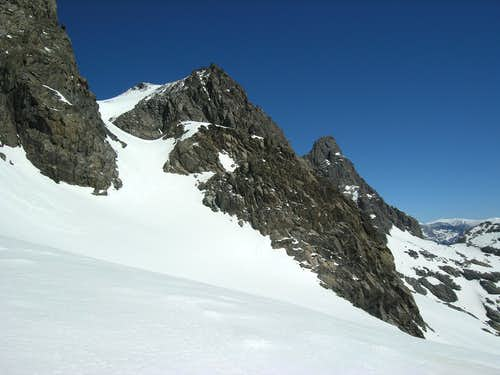 View of the Col