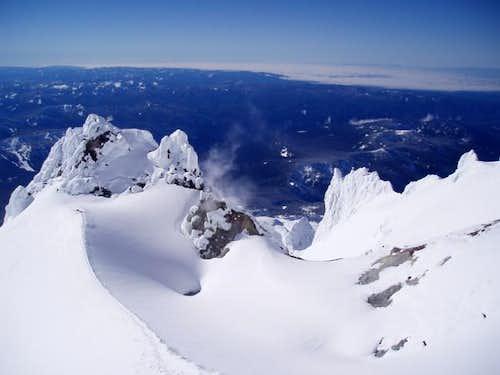 Mount Hood February 9, 2004....