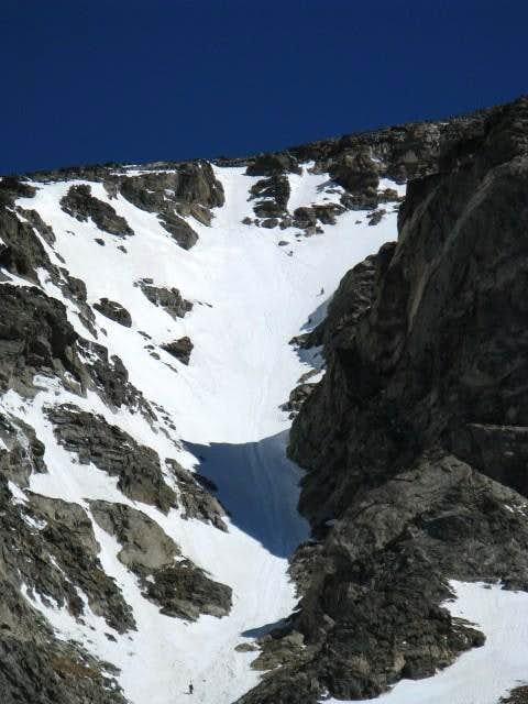 South Arapaho Peak via Skywalker Couloir