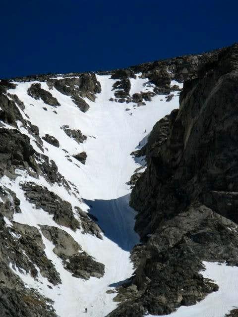 South Arapaho Peak via Skywalker Couloir