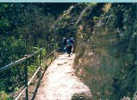 Pathway to Diamond Head. Jan...