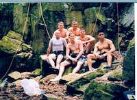 CVN-70 Climbing Group...