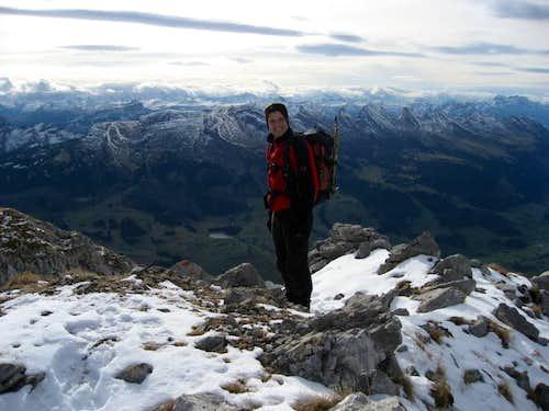 Summit of Wildhauser Schafberg