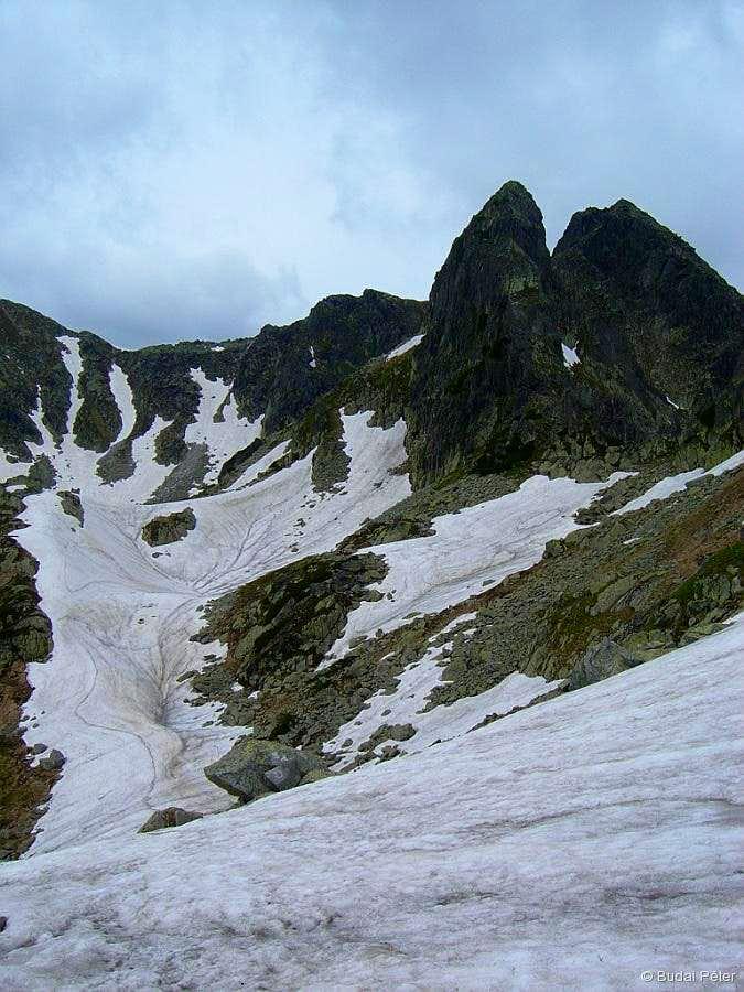 Approaching Judele peak